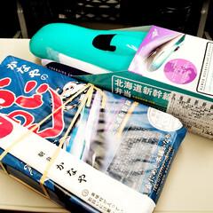 おでかけワンショット。/北海道新幹線/駅弁/かにめし/おでかけワンショット おでかけワンショット。 北海道新幹線が運…