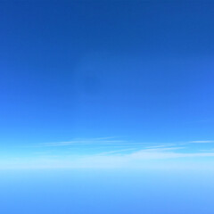今日の空/雲/幻想的/風景 今日の空。 青空とうっすらとした雲がある…