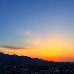 令和元年/夕日/夕焼け/景色/風景/令和元年フォト投稿キャンペーン 夕日をパチリ。 毎日表情を変える夕焼けを…