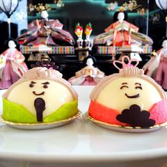 わたしのご飯。/しあわせ/ひな祭り/お雛様/ケーキ/春/... しあわせご飯。 昨日はひな祭りでしたね。…