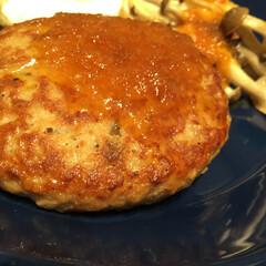 わたしのごはん/しあわせご飯/冷凍ハンバーグ/キッコーマンおろししょうゆ/お店の味 しあわせご飯。 冷凍食品のハンバーグです…