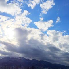 私のお気に入り/風景/自然/山/空/雲/... 私のお気に入りの風景。 空に雲が多いと、…