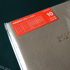 私のお気に入り/手帳/10月始まり/グレージュ/15か月 私のお気に入り。 10月始まりの手帳を購…