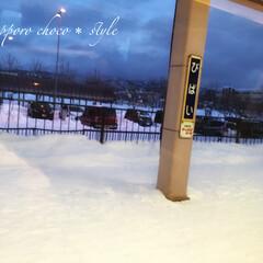 冬の1枚/冬の思い出/JR美唄駅/駅のホーム/雪で覆われている/冬 冬の思い出。 昨年の冬に撮影。 JR美唄…