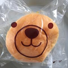 わたしのごはん。/クリームパン/クマさん/わたしのごはん 今日のご飯は、クリームパン。 クマさんの…