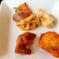 わたしのごはん/しあわせご飯。/ビュッフェランチ/一口サイズ/盛り合わせ しあわせご飯。 ビュッフェランチといえば…