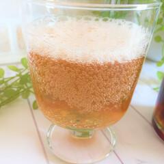 令和元年/炭酸水/レモネードシロップ/夏の飲み物/令和元年フォト投稿キャンペーン 今日の飲み物は、レモネードシロップの炭酸…