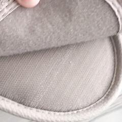 シンプル/お掃除スリッパ/スリッパ/掃除/雑貨/おしゃれ/... お掃除スリッパを購入しました!履くだけで…(2枚目)