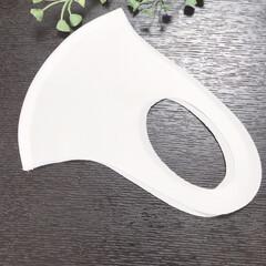 ウィルス対策/シンプル/接触冷感/冷感/マスク/暮らし 接触冷感マスクを購入しました! このタイ…(2枚目)