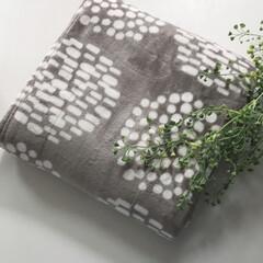 おすすめ/シンプル/北欧風/北欧/毛布/おしゃれ/... 噂の伝説の毛布を購入しました。新商品のサ…