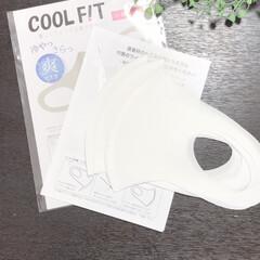 ウィルス対策/シンプル/接触冷感/冷感/マスク/暮らし 接触冷感マスクを購入しました! このタイ…