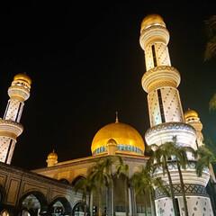 お盆/海外/わたしのお盆/海外旅行記/ムスリム/モスク/... 今年のお盆は、ブルネイ・ダルサラームに行…