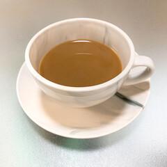 我が家のテーブル #ロンハーマン  おにゅうのコーヒーカッ…(1枚目)