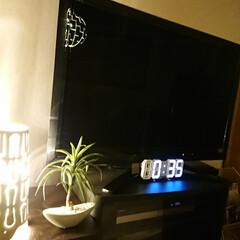デジタル家電/リビング デジタルの掛け置き兼用時計を購入しました…