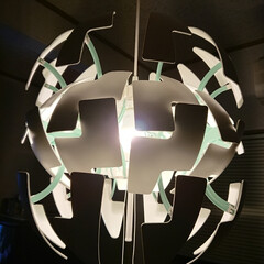 照明/プチプラ照明見つけた!/IKEA 数年前にIKEAで買ったLED照明ですが…