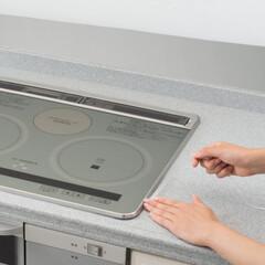 コンロ/ガスコンロ/IHコンロ/キッチン/キッチン掃除/キッチン用品/... フレームカバーがあれば、隙間の汚れを防ぎ…