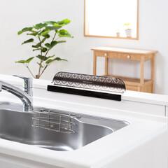 キッチン/流し/シンク/シンクプレート/東洋アルミ/洗い物/... キッチンの対面側にも設置できます♪