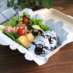 東洋アルミ/ひつじのショーン/ショーン/おにぎり/おにぎりホイル/お弁当/... おにぎりホイルミニ ひつじのショーン
