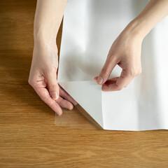 壁面シート/壁面/キッチン/キッチンパネル/油汚れ/汚れ防止/... 貼るだけ、透明タイプ。 貼ってもスッキリ…