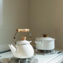 キッチン/ガスコンロ/コンロ/キッチンリセット/キッチン掃除/コンロ掃除/... ごとく付近の焦げつきを防ぐマットです!こ…