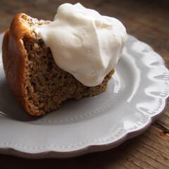 シフォンケーキ/スイーツ作り/お菓子作り/おうちスイーツ/おうちカフェ/おうちごはん こんにちわ♬ 大豆粉で作ったシフォンケー…