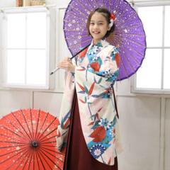 和傘/撮影/袴着/着物/2分の1成人式/お正月2020/... お正月に向けて2分の1成人式の写真撮って…(2枚目)