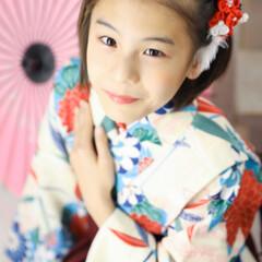 和傘/撮影/袴着/着物/2分の1成人式/お正月2020/... お正月に向けて2分の1成人式の写真撮って…