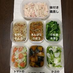 お惣菜/作り置きおかず/リミアの冬暮らし/我が家のテーブル/リミアな暮らし/お弁当/... 久しぶりに作った作り置き惣菜❤︎ とりあ…