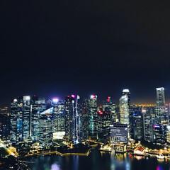フォロバ/夜景/景色/シンガポール/綺麗/映え/... 😆シンガポール 😆夜景 😆これまたノーマ…