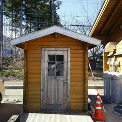ガレージ 趣味の小屋  今度の長期連休に作ろうと計…