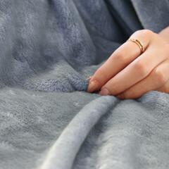 毛布/フランネル/2枚合わせ/厚手/伝説/あったか/... 暖かくて軽い2枚合わせフランネル毛布。 …