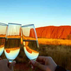 旅行/オーストラリア/世界遺産/ウルル/エアーズロック/登山/... 私の夢であったウルル登山! ついに、行っ…