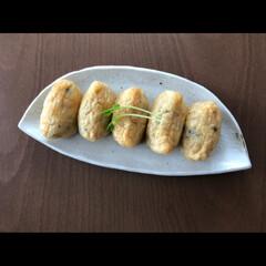 ひじきごはん/和食/お料理/キッチン雑貨/キッチン/雑貨/... 手作りおいなりさん 🌿 残ったヒジキを酢…