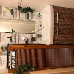 ここが好き 洗面所♪横は、掃除道具を収納してます✧︎