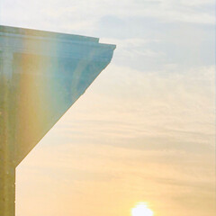写真/朝日/景色/風景/空/朝/... 今日の朝空✨✨✨ 今日も一日いいお天気に…