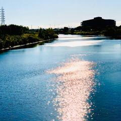 キラキラ/風景/景色/橋/川/公園/... 今日友達と行った公園の橋でパシャリ📱🤩✌…