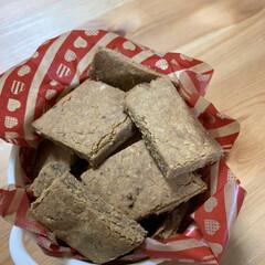 簡単クッキー/米粉/グルテンフリー こんな時間ですが…きな粉クッキー作りまし…