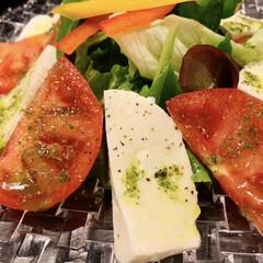 サラダ/朱色/はじめてフォト投稿 サラダはトマトの有無で選んでる