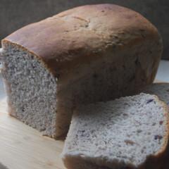 朝ごはん/冷凍ブルーベリー/ブルーベリーパン/ホームベーカリー/パン作り/手作りパン/... ブルーベリーのパンを作りました。 冷凍ブ…