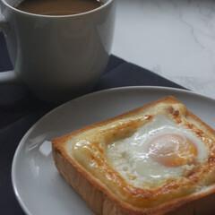 お気に入りメニュー/マヨネーズ/たまご/マヨエッグトースト/トーストアレンジ/あさごぱん/... たまごトースト作りました。 このパンが昔…