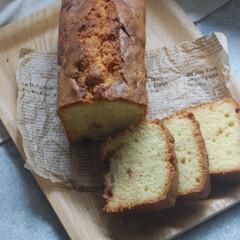ブルーベリージャム/パウンドケーキ/お菓子作り/手作りスイーツ/おうち時間/一眼レフカメラ ブルーベリージャムのパウンドケーキを作り…(1枚目)