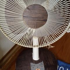 扇風機リメイク/扇風機/リメイクシート 95年製の扇風機をリメイクしました。 な…