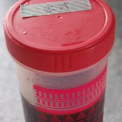 保存容器/アイスコーヒー/作り置き/おうち時間/一眼レフカメラ アイスコーヒーを作って冷蔵庫で保存してま…