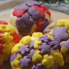 クッキー生地消費/メロンパン/メロンパンdeコッタ/パン作り/手作りパン/おうち時間/... メロンパンdeコッタを作ってみました。 …