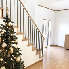 手すり/ツリー/クリスマス/階段/吹き抜け/和モダン