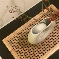LOWYA/韓国雑貨/レイアウト/自室/マイルーム/キッチン/... お部屋を秋っぽく模様替え。 韓国雑貨の花…(2枚目)
