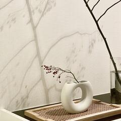 LOWYA/韓国雑貨/レイアウト/自室/マイルーム/キッチン/... お部屋を秋っぽく模様替え。 韓国雑貨の花…(1枚目)