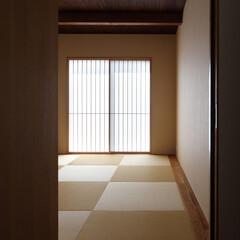 和室/障子/シンプル/個室/客間/家づくり/... 海 望む家 ー景色をゆったりと愉しむ家ー…