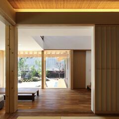 和室/障子/照明/住宅/畳/タタミ/... 縁の家 -四季折々の風景を感じながら暮ら…