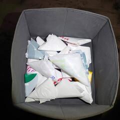 レジ袋 最近はレジ袋を貰う事を減らして、エコバッ…